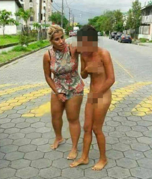 Are mistaken. naked on th streets